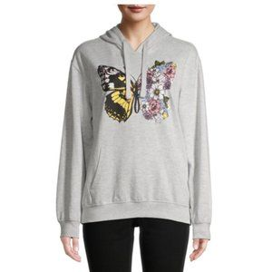 NWT Wound Up Butter Flower Hooded Sweatshirt (3/5)